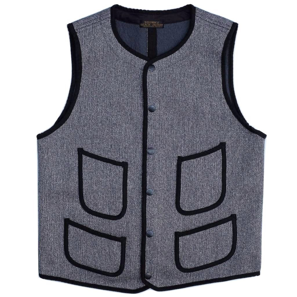 Brown's Beach Early Vest (Classic Gray)