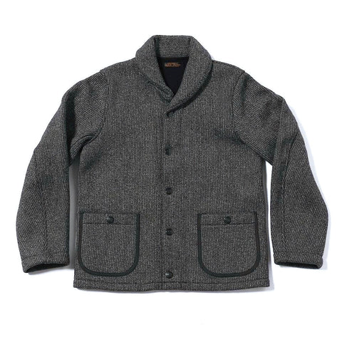 Brown's Beach Shawl Cardigan - Okayama Denim Jacket - Selvedge