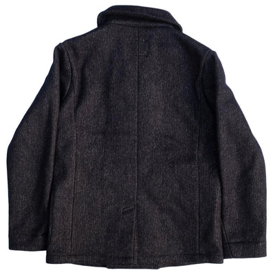 Brown's Beach Peacoat (Navy) - Okayama Denim Jacket - Selvedge