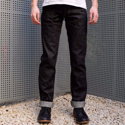 Burgus Plus 770-22 15oz. Selvedge Denim Jeans (Slim Straight) - Okayama Denim Jeans - Selvedge