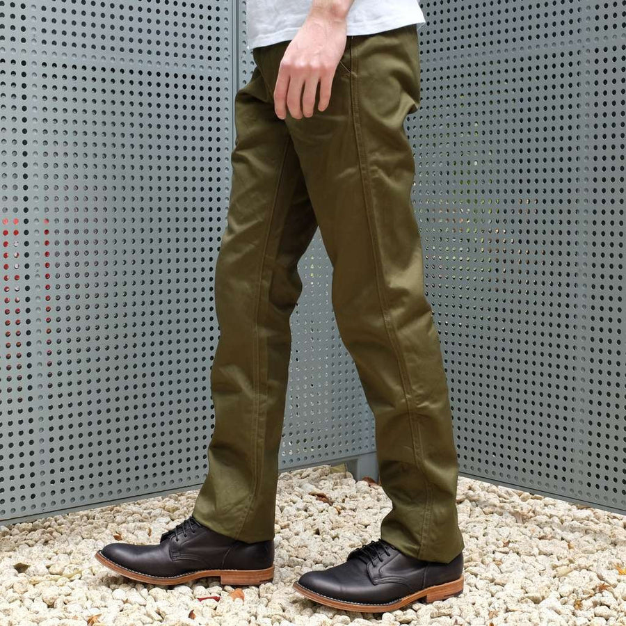 Burgus Plus 401-60Z Chino Pants (Olive)