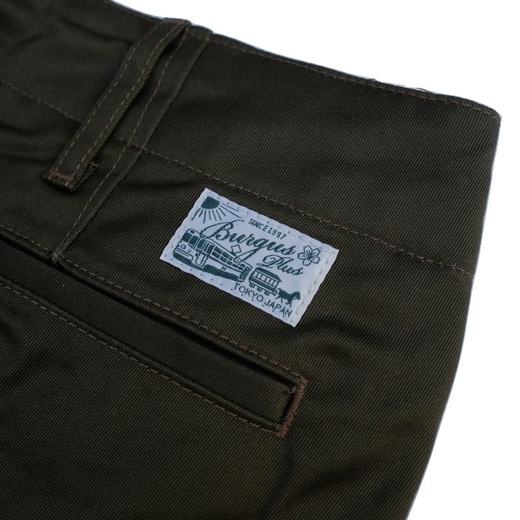 Burgus Plus 401-60 Chino Pants (Olive)