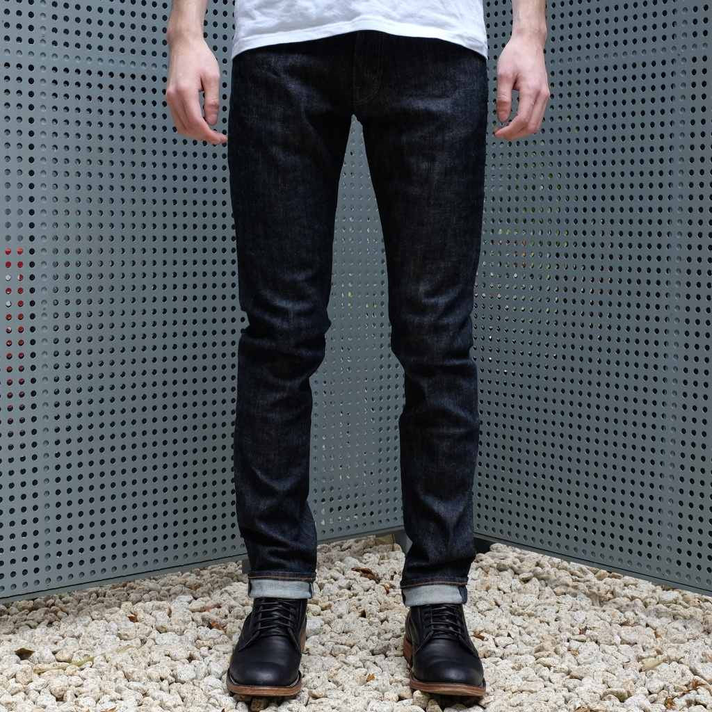Burgus Plus 740-ST Stretch Denim Jeans (Skinny)