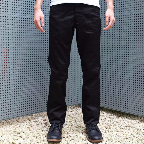 Burgus Plus 401-60 Chino Pants (Black)