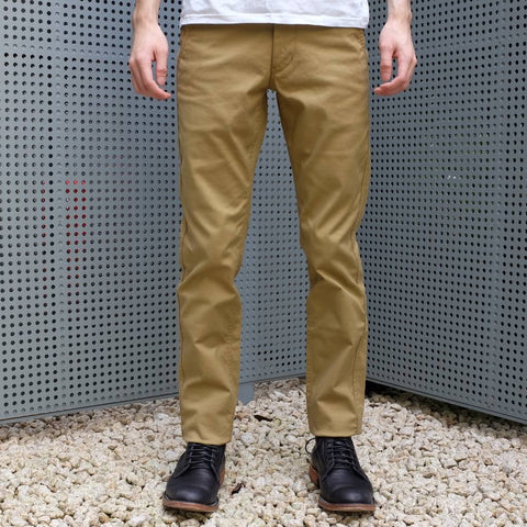 Burgus Plus 403-53 Stretch Chino Pants (Khaki)