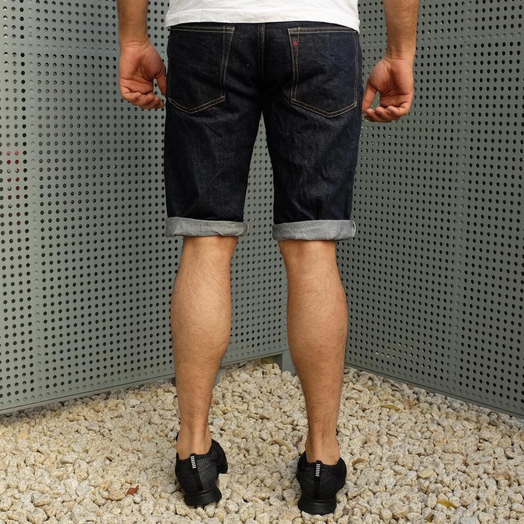 Burgus Plus S770-26 15oz. Selvedge Denim Shorts