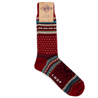Chup Socks Vott (Crimson)