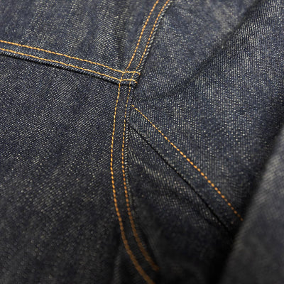 "Big John 15.8oz. ""Extra"" Organic Cotton Embroidered Back Selvedge Jacket"
