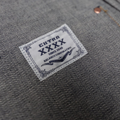"Big John 15.8oz. ""Extra"" Organic Cotton Selvedge Jacket"