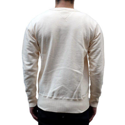 Studio D'Artisan Suvin Gold Loopwheel Color Crewneck Sweatshirt (Oatmeal)