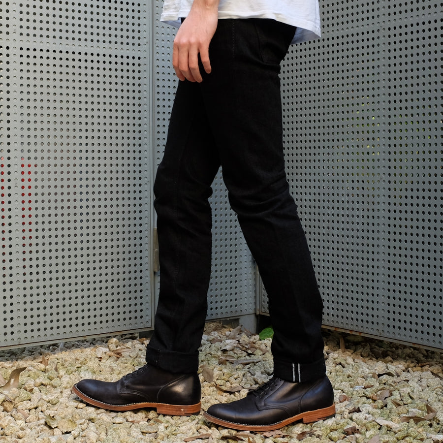 "OD+PBJ 14oz. ""Kurokin"" Black Selvedge Jeans (Slim Tapered)"