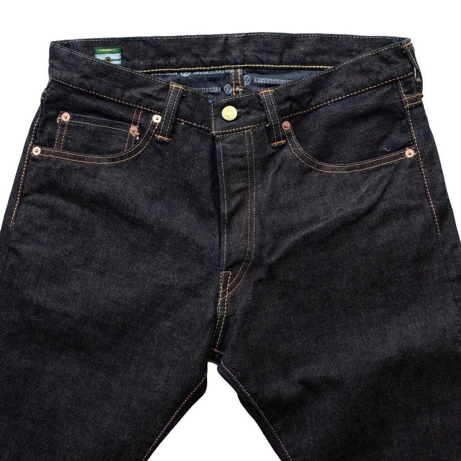 [Pre-Order] Momotaro 15THL02 15th Anniversary Left-Hand Twill Selvedge Jeans (Slim Straight)