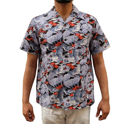 Studio D'Artisan 5654 Original Aloha Shirt (Black)