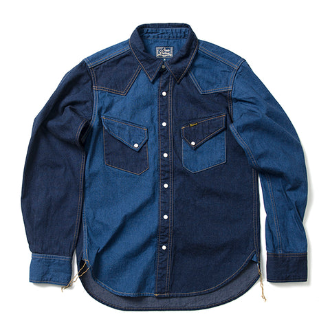 Studio D'Artisan 11oz. 'Crazy' Selvedge Denim Shirt