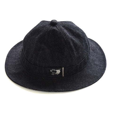 Studio D'Artisan Selvedge Denim Metro Hat