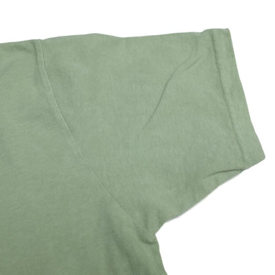 "Japan Blue ""Ethical"" Organic Dyed Tee (Light Green) - Okayama Denim T-Shirts - Selvedge"
