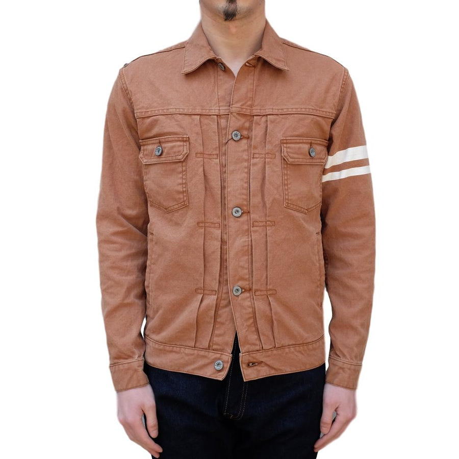 Momotaro 2nd Type GTB Duck Jacket (Brown)