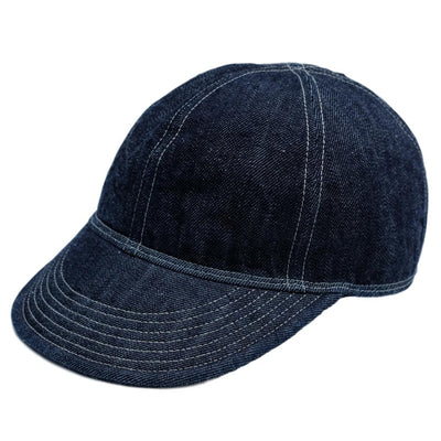 Fullcount Denim A-3 Mechanic Cap - Okayama Denim Accessories - Selvedge
