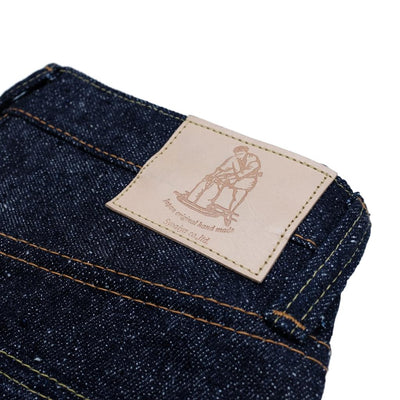 Pure Blue Japan SR-019 (Relaxed Tapered) - Okayama Denim Jeans - Selvedge