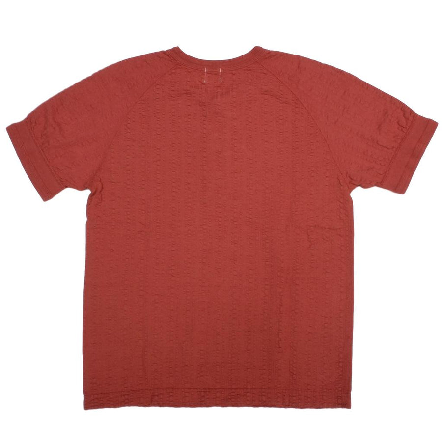 Loop & Weft Random Broad Stitch Classic Henley (Dark Cherry)