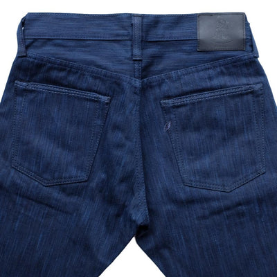 Pure Blue Japan AIBK-019 17.5oz. Natural Indigo x Sumi Selvedge Jeans (Relax Tapered)