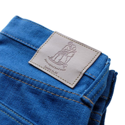 "Pure Blue Japan BG-019 14.5oz. ""Blue Gray"" Selvedge Jeans (Relaxed Tapered)"