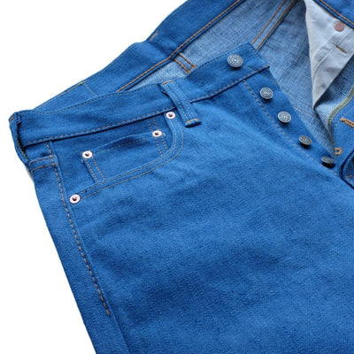 "Pure Blue Japan BG-013 14.5oz. ""Blue Gray"" Selvedge Jeans (Slim Tapered)"