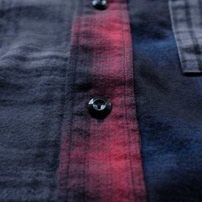 FDMTL Nell Check Patchwork Shirt