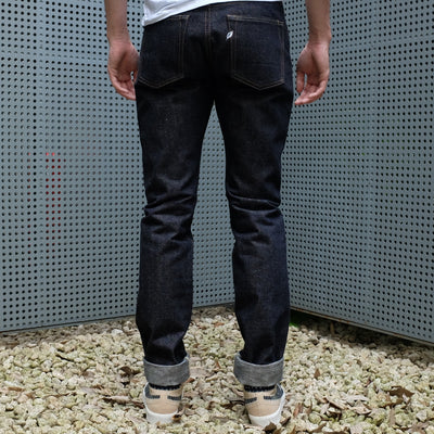 Pure Blue Japan NP-013 Nep Selvedge Jeans (Slim Tapered)