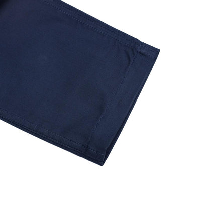 Pure Blue Japan Sulfur Dyed Whipcord Military Pants (Navy) - Okayama Denim Pants - Selvedge