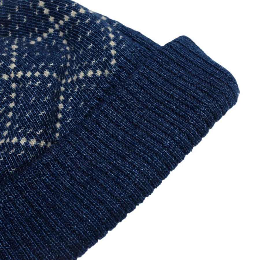 Setto Yarn Dyed Indigo Beanie
