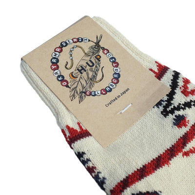 OD+Chup Socks Dreamcatcher - Okayama Denim Accessories - Selvedge