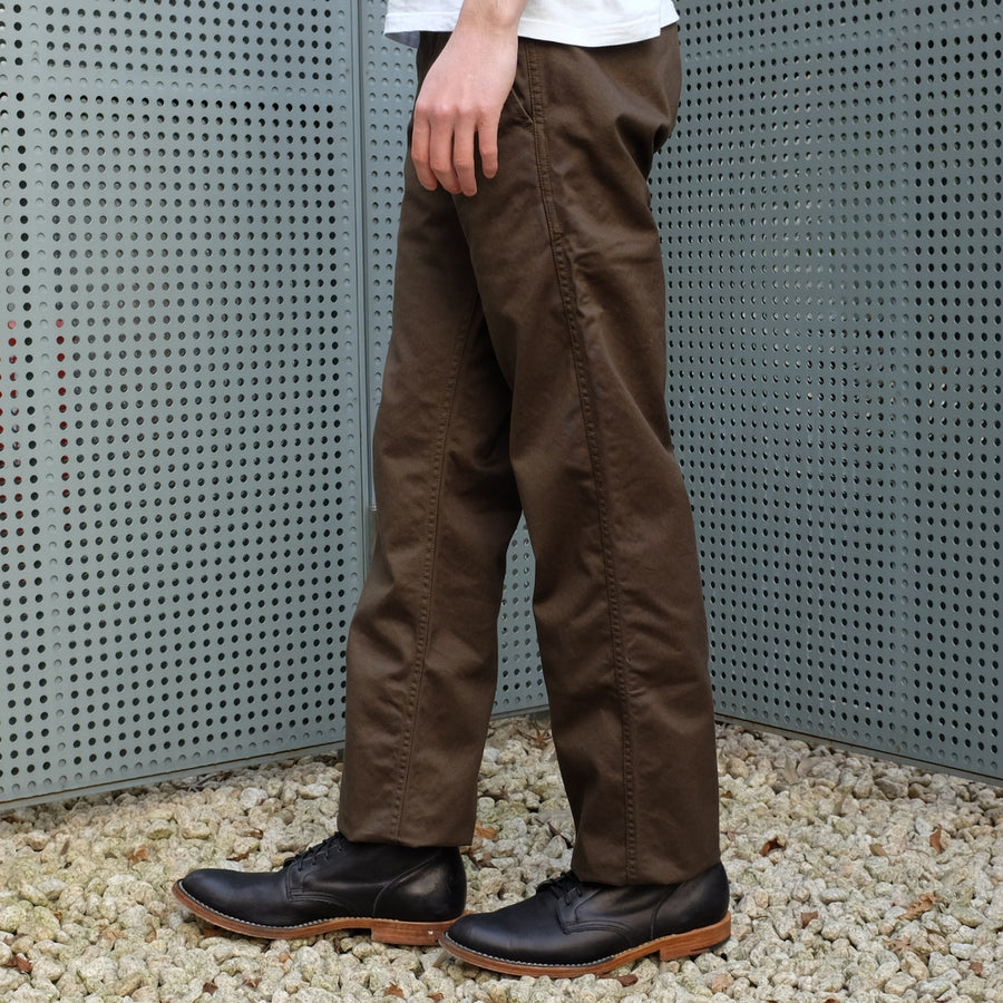 Momotaro High Count West Point Work Pants (Olive)