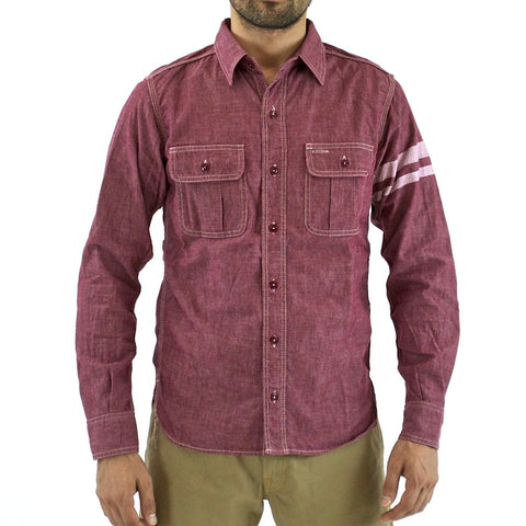Momotaro SJ091 GTB 5oz. Chambray Shirt