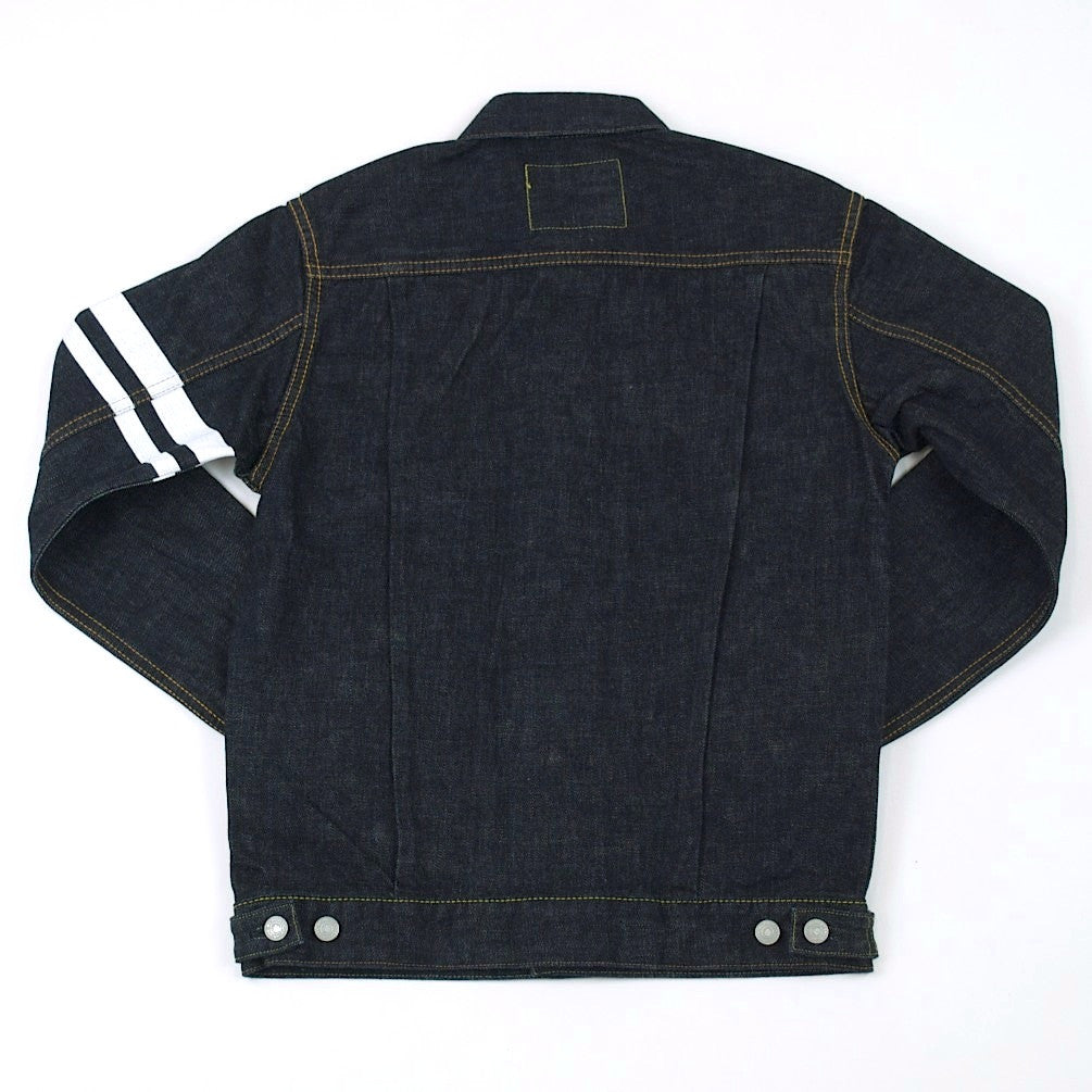 2nd hand black denim jacket