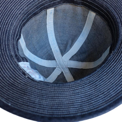 The Factory Made Selvedge Denim Camp Hat