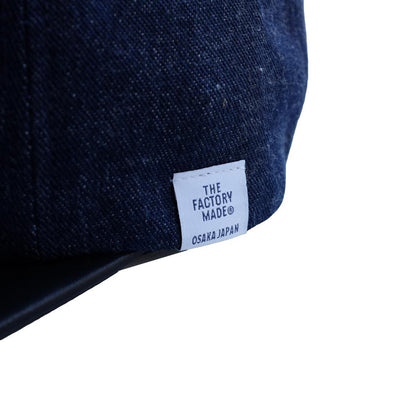The Factory Made Selvedge Denim 6-Panel Cap