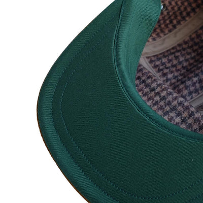 The Factory Made Wool Check Ultrasuede® Jet Cap