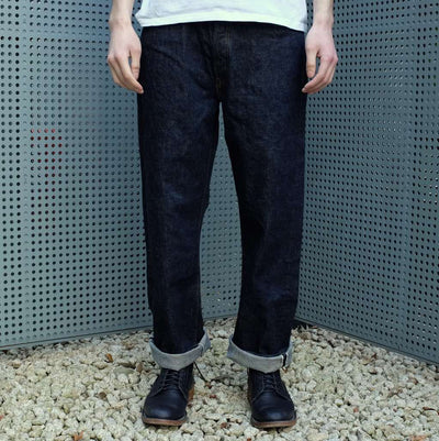 Fullcount New 0105 (Wide Straight) - Okayama Denim Jeans - Selvedge