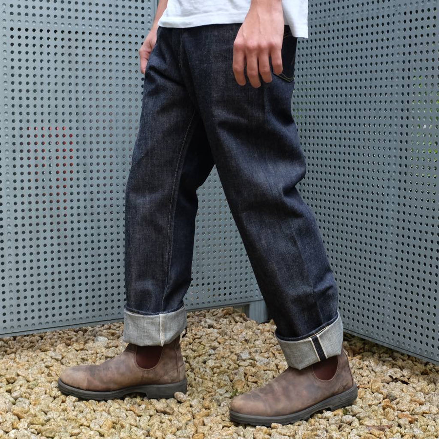 Fullcount 25th Anniversary 1100EX-17 WWII Model (Wide Straight) - Okayama Denim Jeans - Selvedge