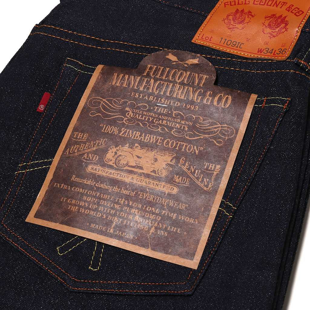 "Fullcount 1109 IC ""Indigo Covert"" (Slim Tapered)"