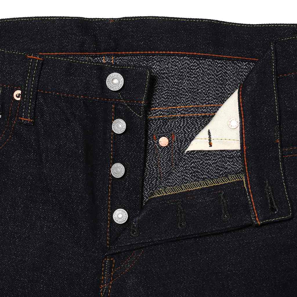 "Fullcount 1109 IC ""Indigo Covert"" (Slim Tapered) - Okayama Denim Jeans - Selvedge"