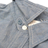 Fullcount 5oz. Indigo Selvedge Chambray Shirt