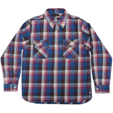 Fullcount 25th Anniversary Flannel Check Work Shirt