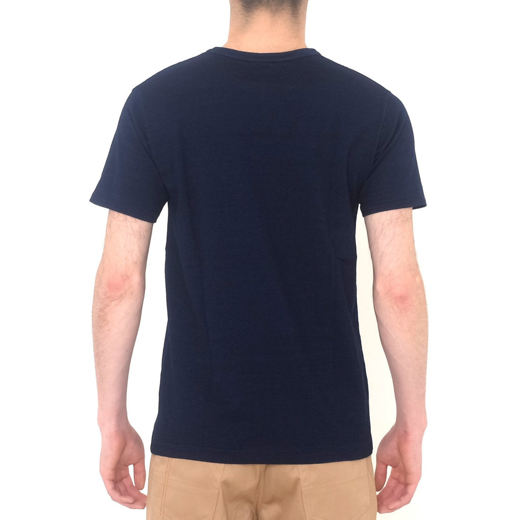 Fullcount 5926 Indigo Dyed Pocket Tee