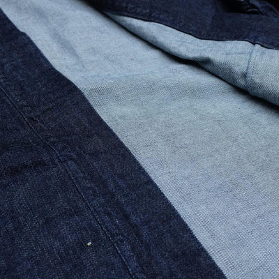 Fullcount 'Furu' Denim Happi Coat - Okayama Denim Jacket - Selvedge