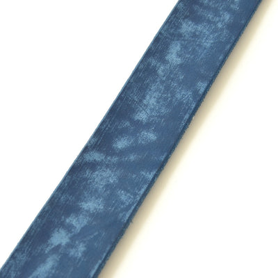 Fullcount 6210 Leather Belt (Navy) - Okayama Denim Accessories - Selvedge