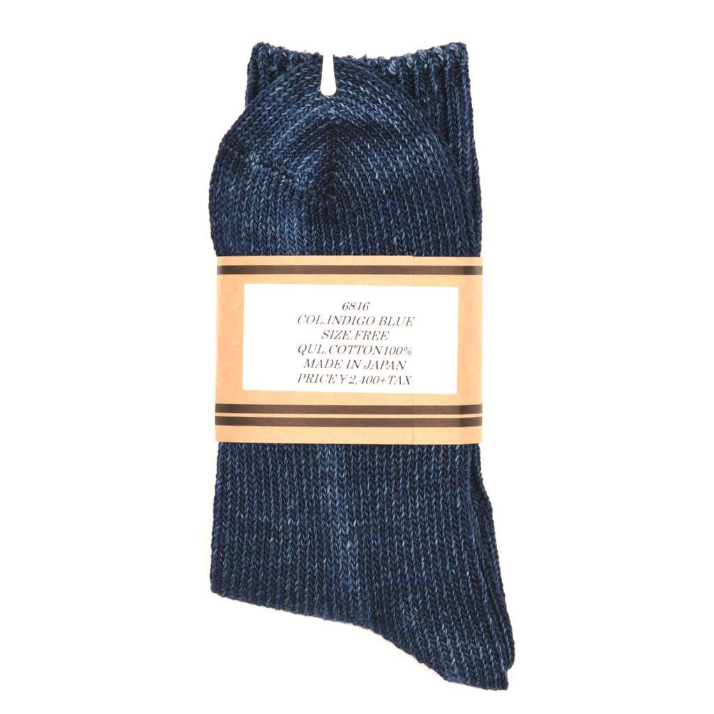 Fullcount Indigo Dyed Socks - Okayama Denim Accessories - Selvedge