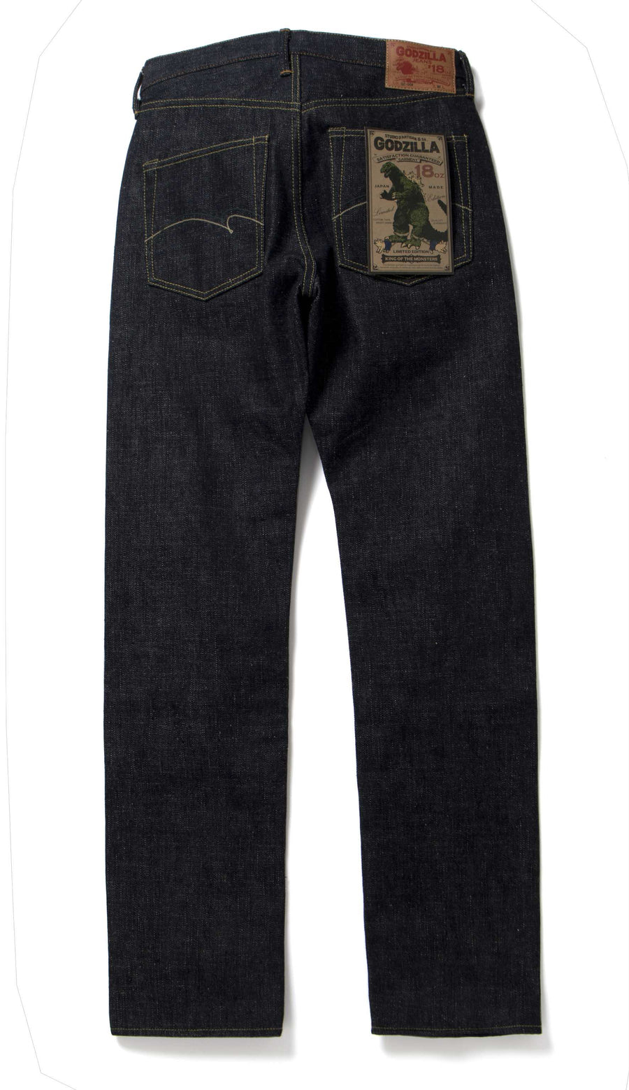 "[Pre-order] Studio D'Artisan GZ-009 18oz. ""Godzilla"" Selvedge Jeans (Regular Straight)"