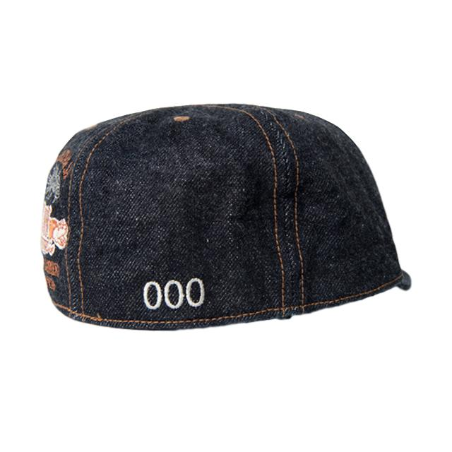 Studio D'Artisan 40th Anniversary Denim Cap - Okayama Denim Accessories - Selvedge